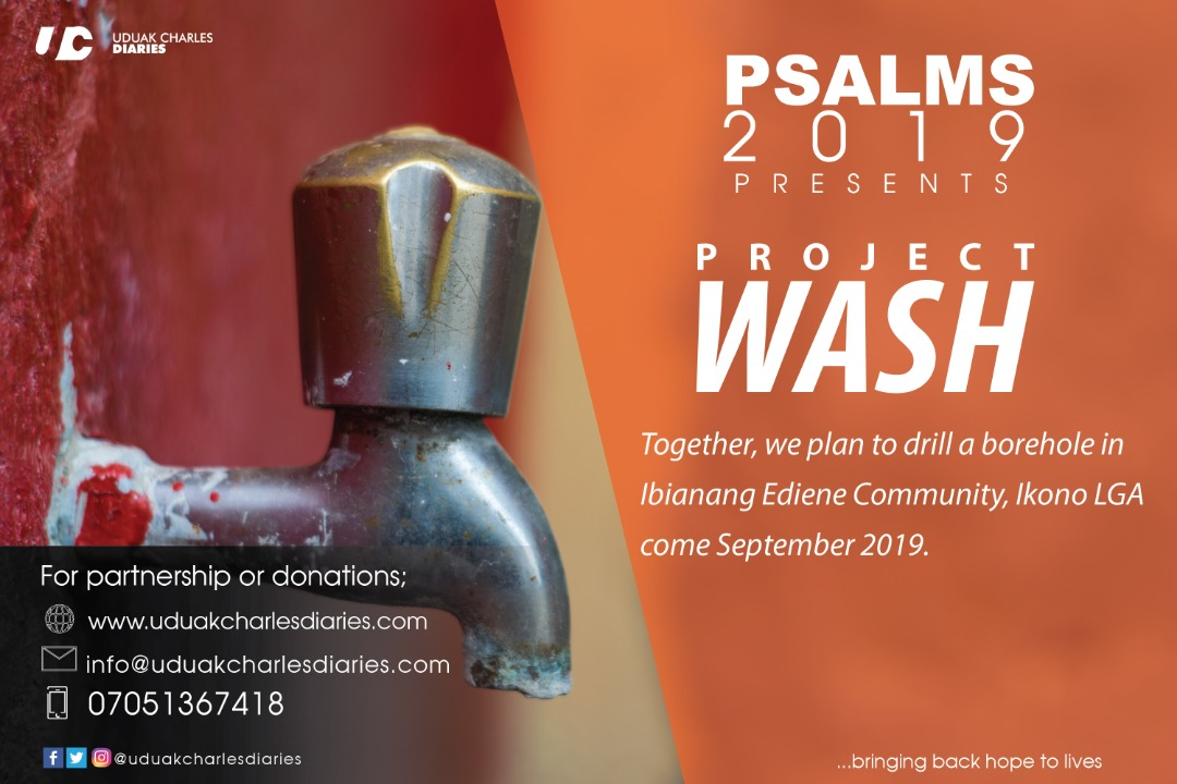 Project Wash - Uduak Charles Diaries 2019