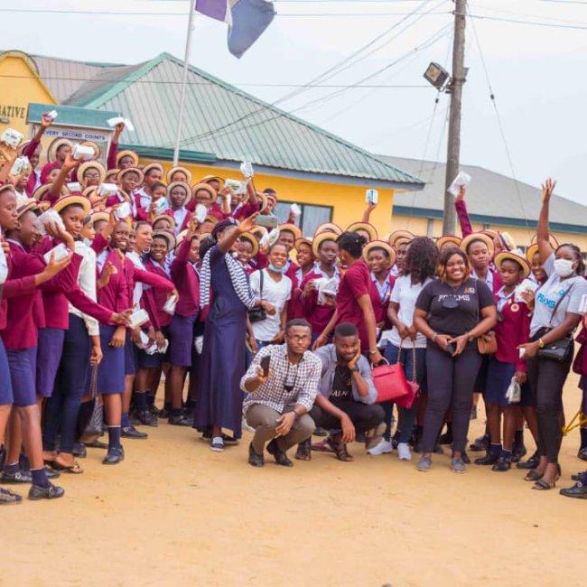 Girl Child Outreach 2021 - Uduak Charles Diaries